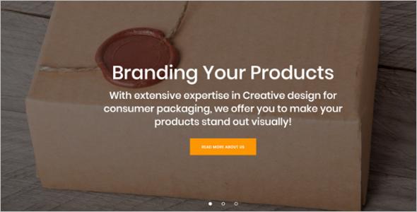 Best Packaging Company WordPress Theme