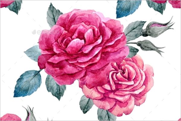 Best Rose Seamless Pattern