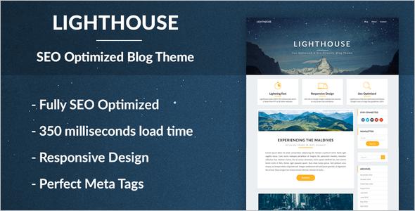Best SEO Optimized WordPress Theme