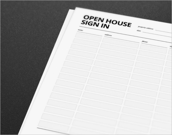 Best Sign In Sheet Template