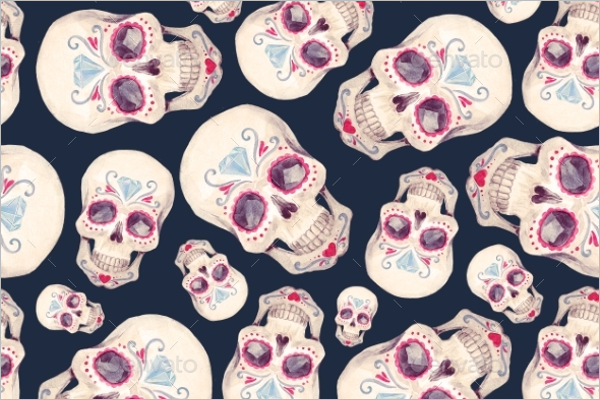 Best Skull Seamless Pattern
