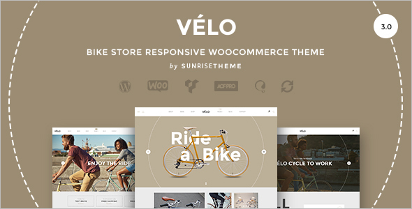 Bike Store Responsive Business Theme