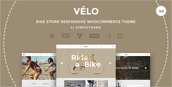 Bike Store Responsive Business Theme