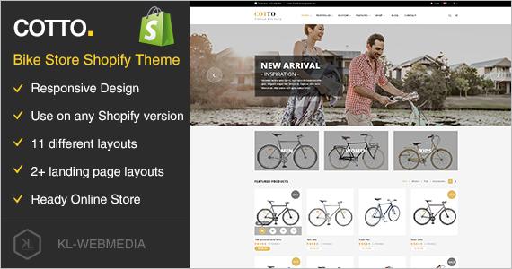 Bike Store Shopify Theme