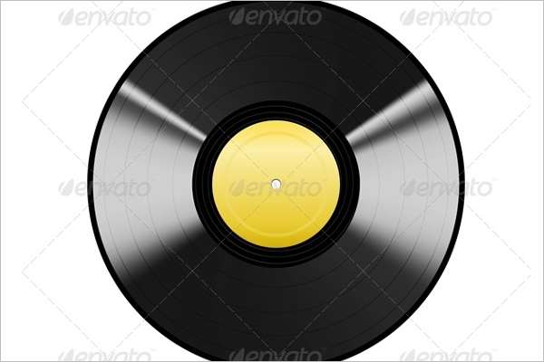 Black Vinyl EPS Design