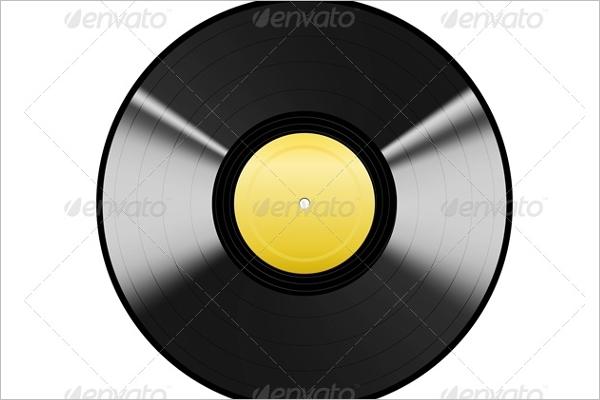 Black Vinyl EPS Design