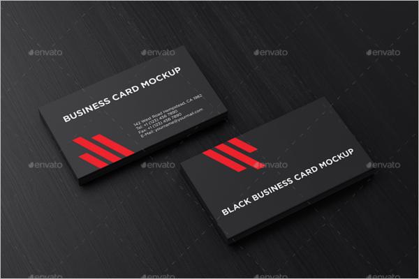 BlankBusiness Card Mockup Design