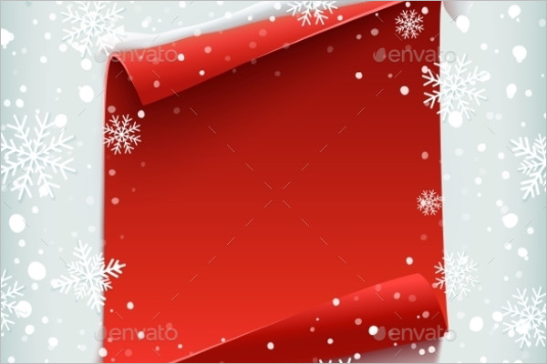 Blank Christmas Background Template