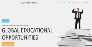 Bootstrap Education Website Template