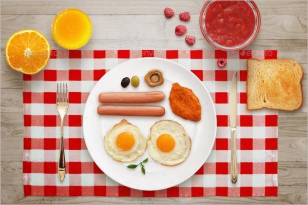 Breakfast Mockup Template