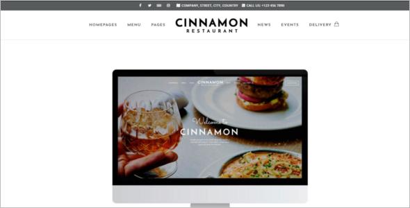 Burger WordPress Theme