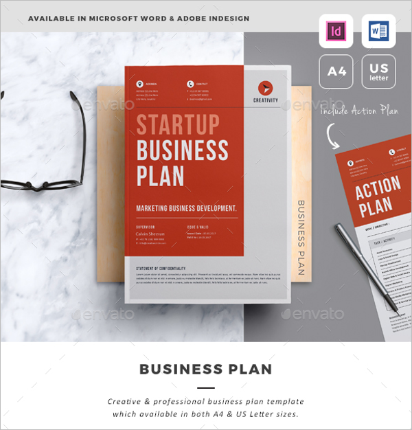 Business Plan Indesign Template For Best Business Strategy YOGNEL ...