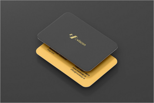Business Card Mockup Illustrator