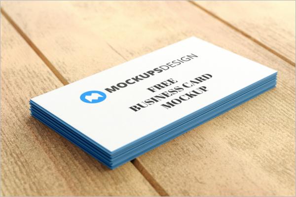 Business Card Mockup PSD Design Download