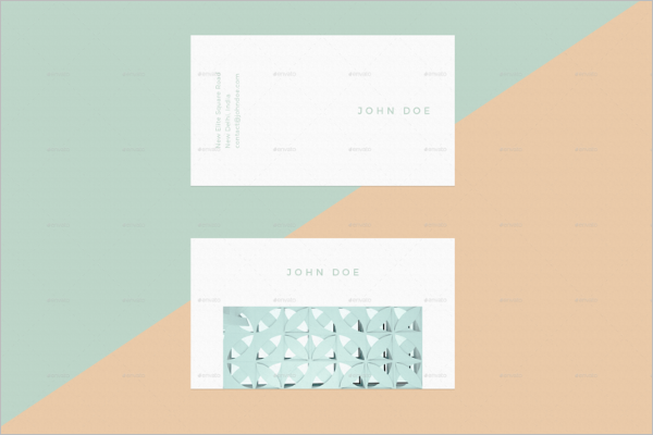 Business Card Mockup PSD Design