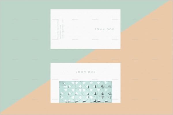 Business Card Mockup PSD Design