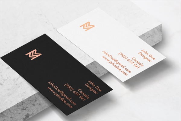 Business Card PSD Mockup Design