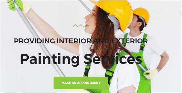 Business Painting WordPress Theme