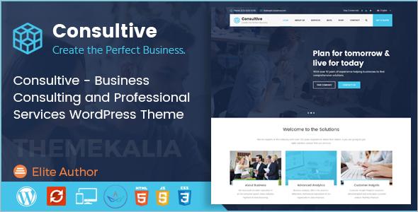 Business Services WordPress Theme