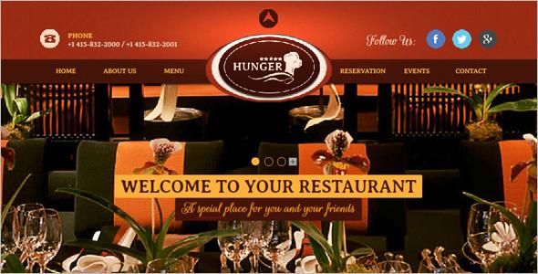 Cafe & Bar Website Theme