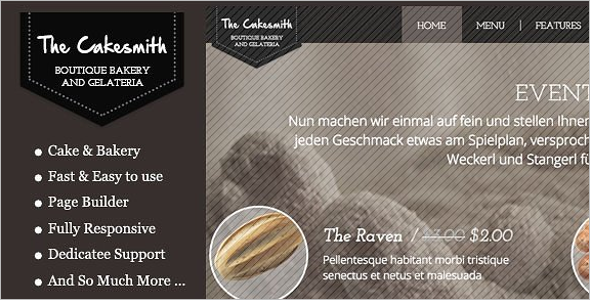 CakeSmith WordPress Theme