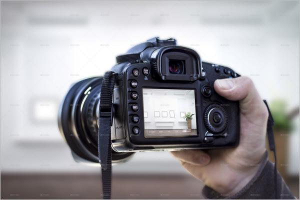 Camera Mockup Design