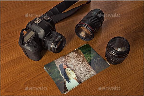 Canon Camera Mockup