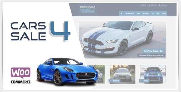 New Car Dealership WordPress Theme