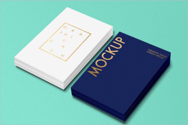 Card Mockup PSD Design