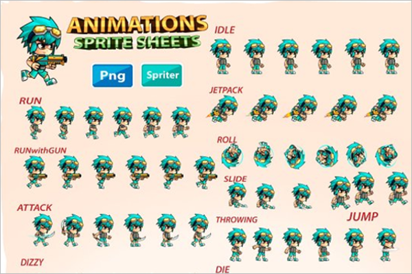 Cartoon Character Design Templates : Warrior cartoon characters designs free premium templates