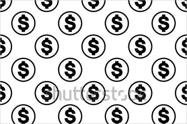 Cash Background Vector Design