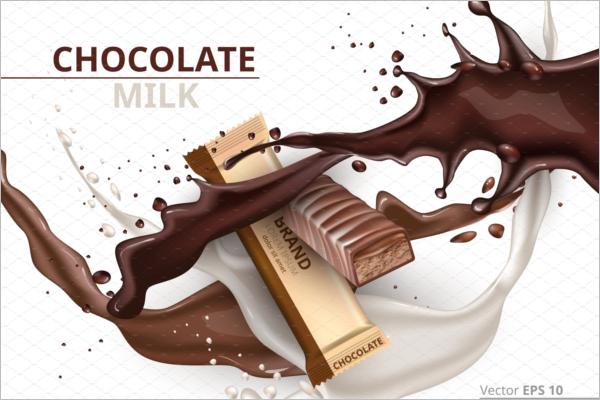 Chocolate Caramel Mockup Template