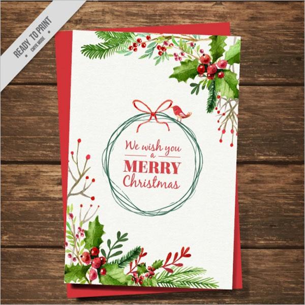 Christmas Card Vector Designs