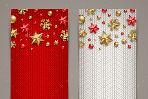 Christmas Fabric Banner Template