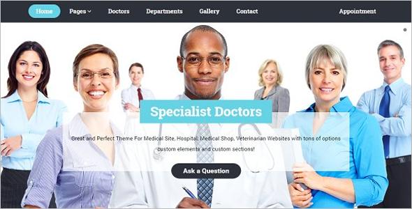 Clinical Hospital WordPress Theme