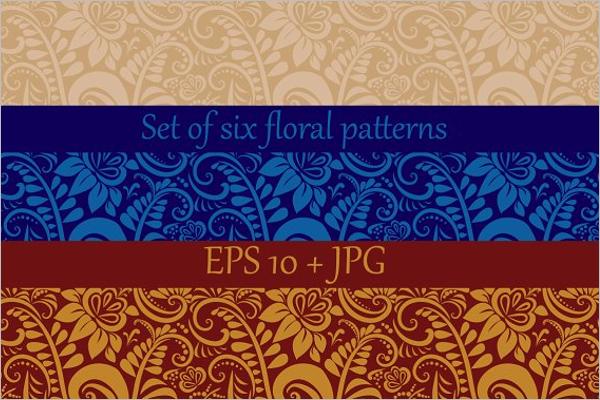 Colorful Floral Pattern Design