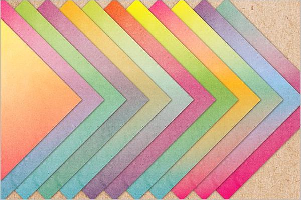 Colorful 3D Texture Design