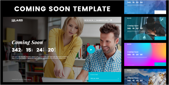 Coming Soon Page HTML Template