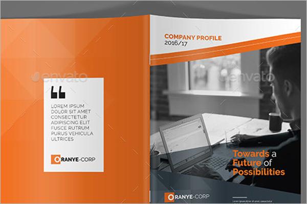 Company profile free template