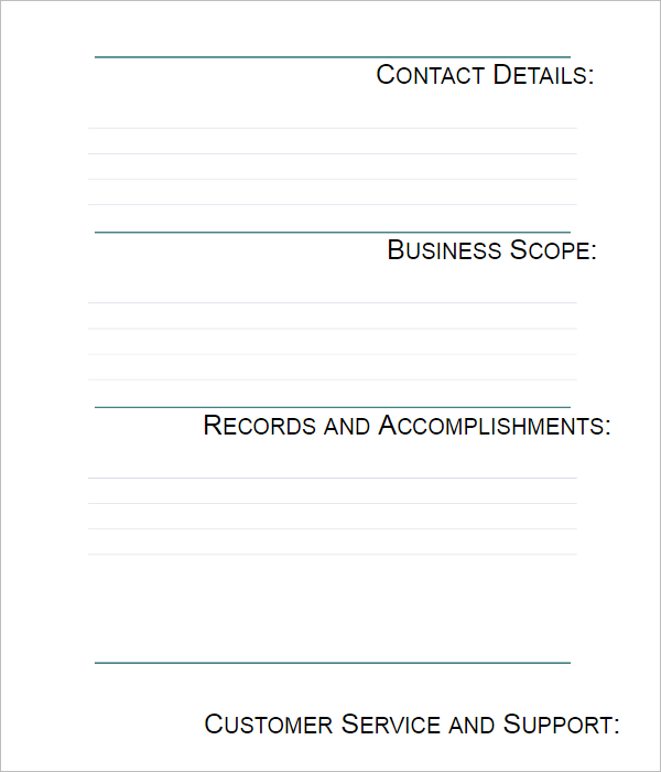42 company profile templates free word pdf ppt psd formats company profile template stock flashek Choice Image