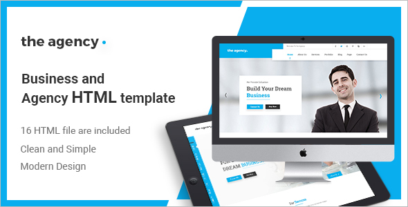 Corporate Agency HTML5 Template