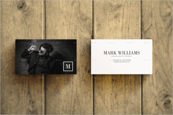 Corporate Business Card Mockup Design