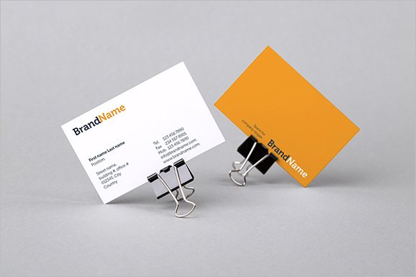 Corporate Card Mockup Template