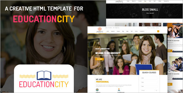 Corporate Education HTML Template