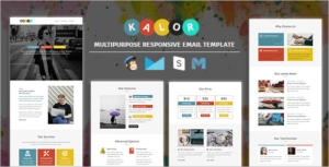 Corporate Email Marketing Template