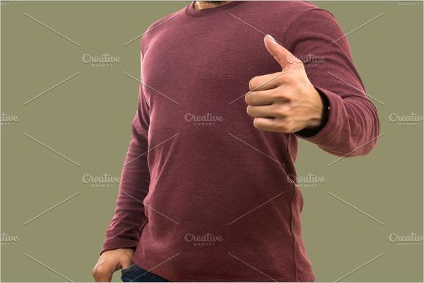 Cotten T- Shirt Mockup Template