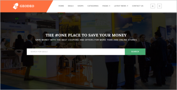 Coupons Offers WordPress Theme