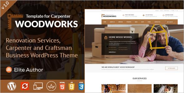Craftsman Business WordPress Theme