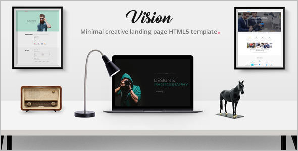 Creative Agency HTML5 Template.