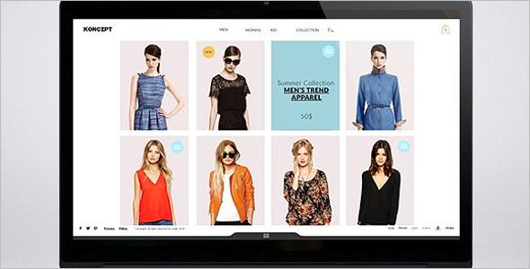 Creative Fashion ECommerce Template